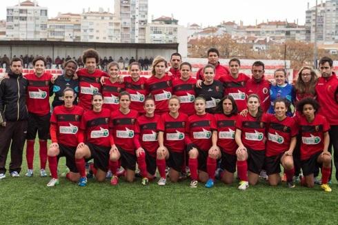Clube Futebol Benfica Equipa feminina de futebol 11 19jan14 às 14:57